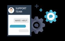 Education host - support team