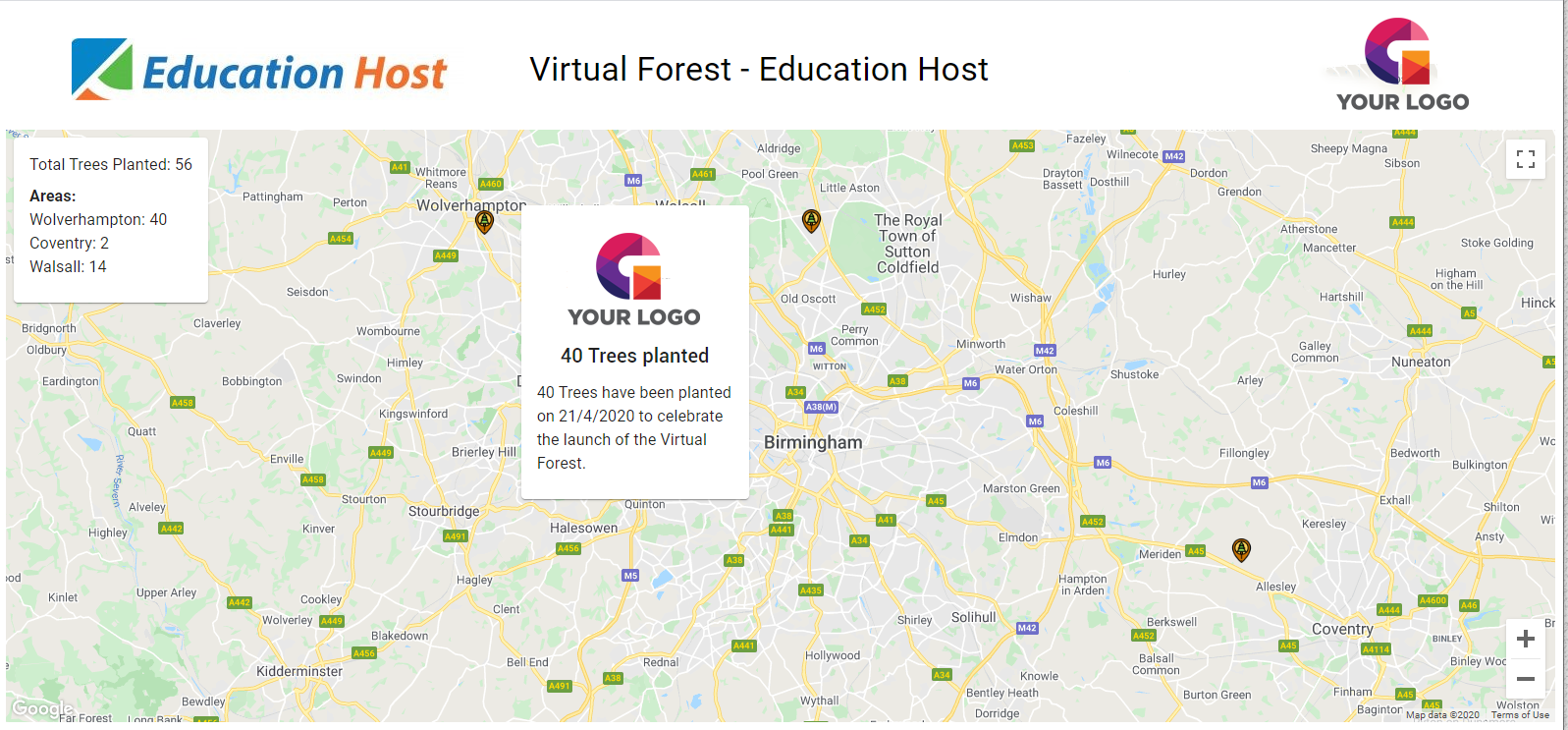 Virtual Forest - Education Host